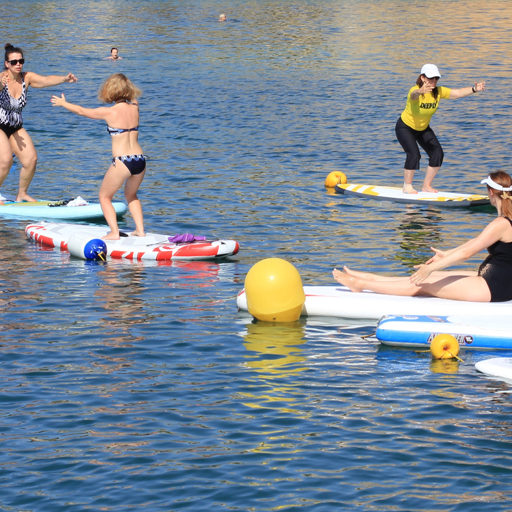 Cursos de Sup pilates & Sup yoga en Altea
